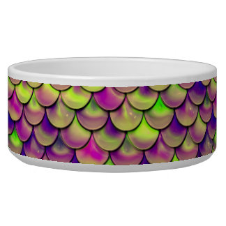 Falln Purple and Green Scales Bowl