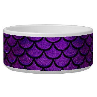 Falln Purple & Blue Mermaid Scales Bowl