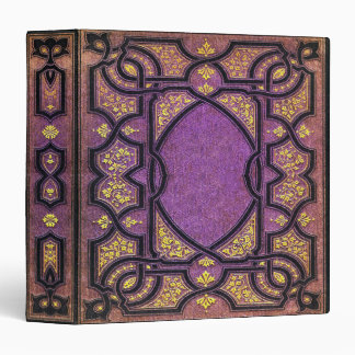 Falln Purple Vines Book Binder