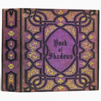 Falln Purple Vines Book of Shadows Binder