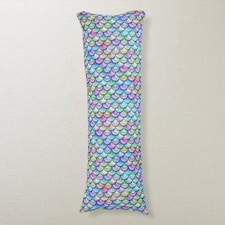 Falln Rainbow Bubble Mermaid Scales Body Pillow