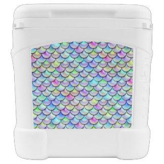 Falln Rainbow Bubble Mermaid Scales Cooler