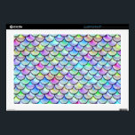 """Falln Rainbow Bubble Mermaid Scales Laptop Skins<br><div class=""""desc"""">Perfect for any mermaid,  merman,  dragon,  or serpent!  Click &#39;Customize&#39; to add your own personalized text.</div>"""