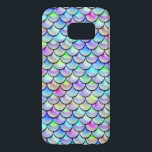 "Falln Rainbow Bubble Mermaid Scales Samsung Galaxy S7 Case<br><div class=""desc"">Perfect for any mermaid,  merman,  dragon,  or serpent!