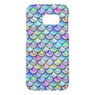 Falln Rainbow Bubble Mermaid Scales Samsung Galaxy S7 Case