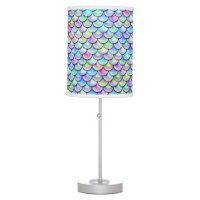 Falln Rainbow Bubble Mermaid Scales Table Lamp