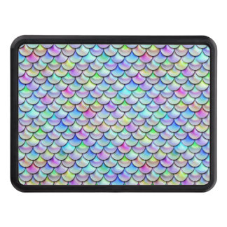 Falln Rainbow Bubble Mermaid Scales Tow Hitch Cover