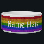 """Falln Rainbow Glitter Gradient Bowl<br><div class=""""desc"""">Click &#39;Customize&#39; to add in your own personalized text!  If it happens to say """"Your Text Here"""",  but you don't want the text on your item,  click 'customize' and delete the text before adding it to your cart.</div>"""