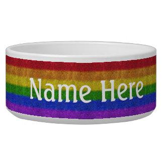 Falln Rainbow Glitter Gradient Bowl