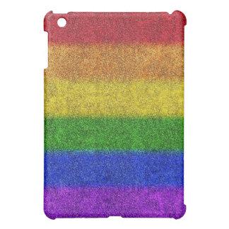 Falln Rainbow Glitter Gradient Case For The iPad Mini