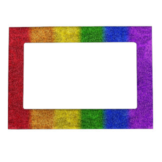 Falln Rainbow Glitter Gradient Magnetic Frame