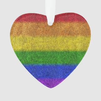 Falln Rainbow Glitter Gradient Ornament