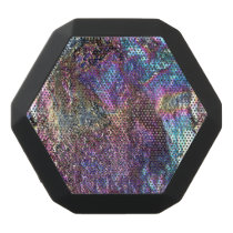Falln Rainbow Rocks Black Bluetooth Speaker
