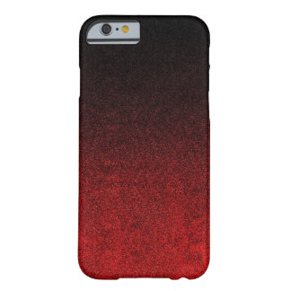 Falln Red & Black Glitter Gradient Barely There iPhone 6 Case