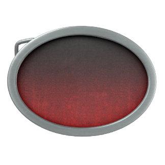 Falln Red & Black Glitter Gradient Belt Buckle