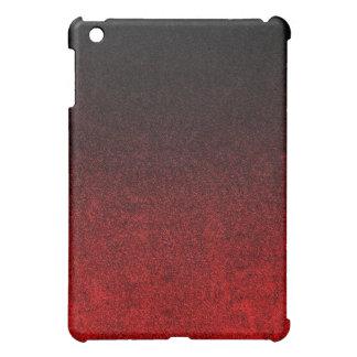 Falln Red & Black Glitter Gradient Case For The iPad Mini