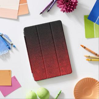 Falln Red & Black Glitter Gradient iPad Air Cover