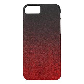 Falln Red & Black Glitter Gradient iPhone 8/7 Case