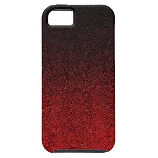 Falln Red & Black Glitter Gradient iPhone SE/5/5s Case
