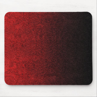 Falln Red & Black Glitter Gradient Mouse Pad