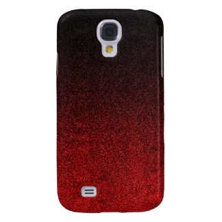 Falln Red & Black Glitter Gradient Samsung Galaxy S4 Case