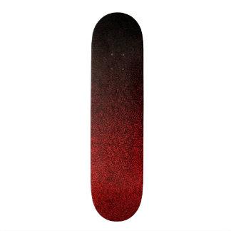 Falln Red & Black Glitter Gradient Skateboard