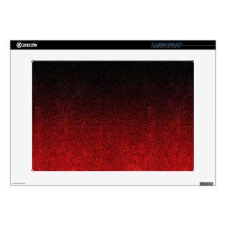 """Falln Red & Black Glitter Gradient Skins For 15"""" Laptops"""