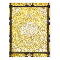 Falln Sacred Gold Postcard