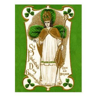 Falln Saint Patrick Postcard