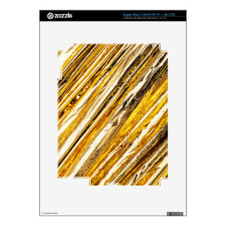 Falln Shimmering Gold Foil Decal For iPad 3