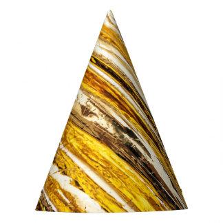 Falln Shimmering Gold Foil Party Hat