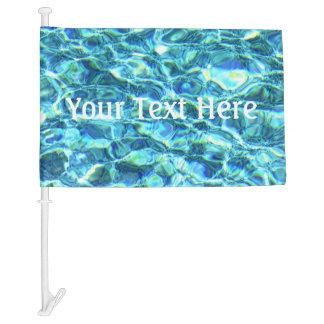 Falln Shimmering Water Car Flag