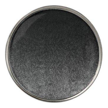 Halloween Themed Falln Silver & Black Glitter Gradient Golf Ball Marker