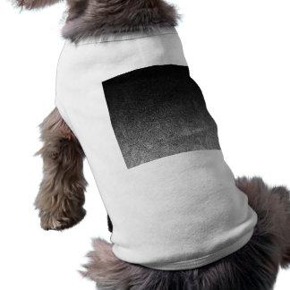 Falln Silver & Black Glitter Gradient Shirt