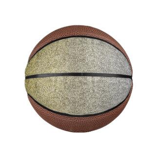 Falln Silver & Gold Glitter Gradient Basketball