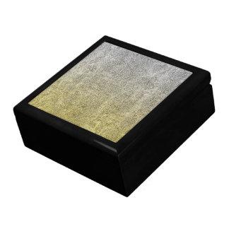 Falln Silver & Gold Glitter Gradient Jewelry Box