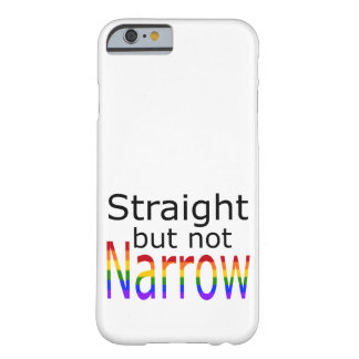 Falln Straight But Not Narrow (black text) Barely There iPhone 6 Case