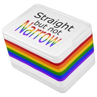 Falln Straight But Not Narrow (black text) Drink Cooler