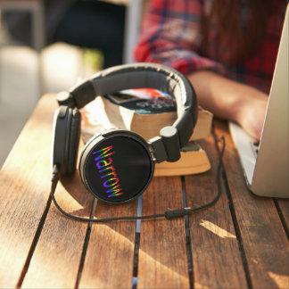 Falln Straight But Not Narrow (black text) Headphones