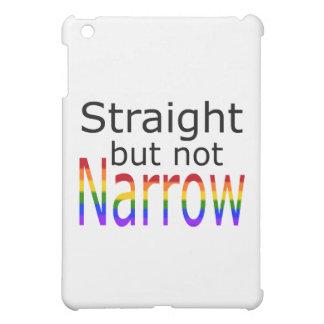 Falln Straight But Not Narrow (black text) iPad Mini Cases