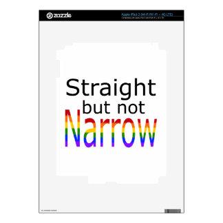 Falln Straight But Not Narrow (black text) Skin For iPad 3