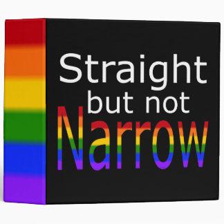 Falln Straight But Not Narrow (white text) 3 Ring Binder