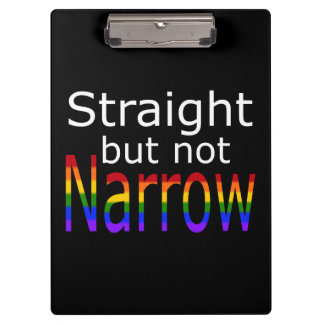 Falln Straight But Not Narrow (white text) Clipboard