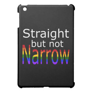 Falln Straight But Not Narrow (white text) iPad Mini Covers