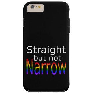Falln Straight But Not Narrow (white text) Tough iPhone 6 Plus Case