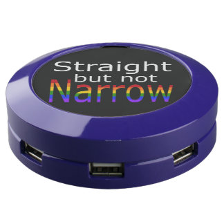 Falln Straight But Not Narrow (white text) USB Charging Station