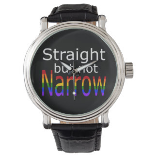 Falln Straight But Not Narrow (white text) Watch