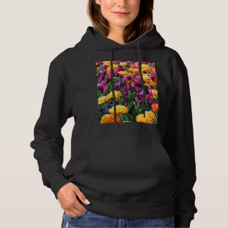 Falln Sunset Floral River Hoodie