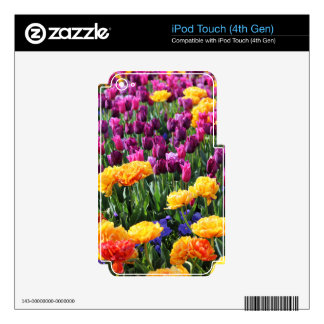 Falln Sunset Floral River iPod Touch 4G Skins