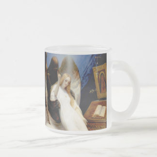 Falln The Angel of Death Frosted Glass Coffee Mug